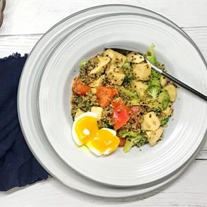 Salad ức gà kiều mạch