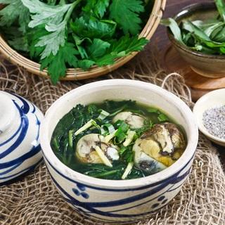 Cách nấu Trứng Vịt Lộn Um Ngải Cứu tăng cân cho người gầy
