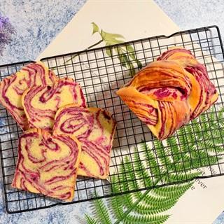 Cách làm Bánh Mì Khoai Lang Tím Mềm Xốp đơn giản tại nhà