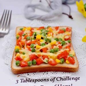 Pizza rau củ siêu ngon
