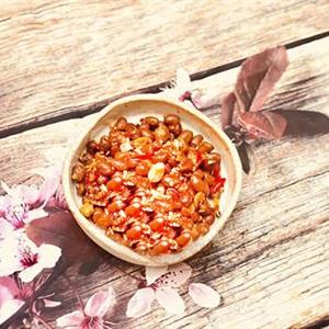 Đậu phộng rang tỏi ớt siêu ngon