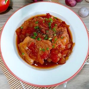 Thịt heo hầm cà chua