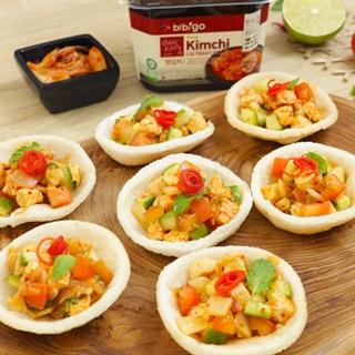 Cách Làm Salad Ức Gà Kim Chi Ngon Mắt Cho Gia Đình