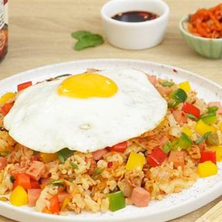 Cách Làm Cơm Chiên Kim Chi Tơi Ngon Cho Bữa Sáng