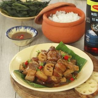 Cách Làm Thịt Kho Củ Sen Đậm Đà, Đưa Cơm