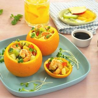 Cách Làm Salad Tôm Cam Chua Ngọt Lạ Miệng Cực Ngon
