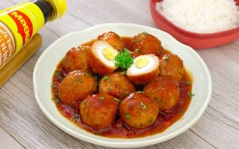Cách Làm Chả Cá Bọc Trứng Cút Sốt Cà Chua Cho Bé