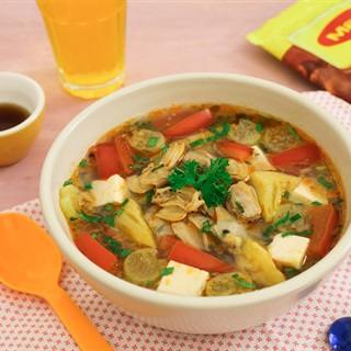 Cách Nấu Canh Chua Nghêu Đậu Hũ Bổ Sung Sắt Cho Bé