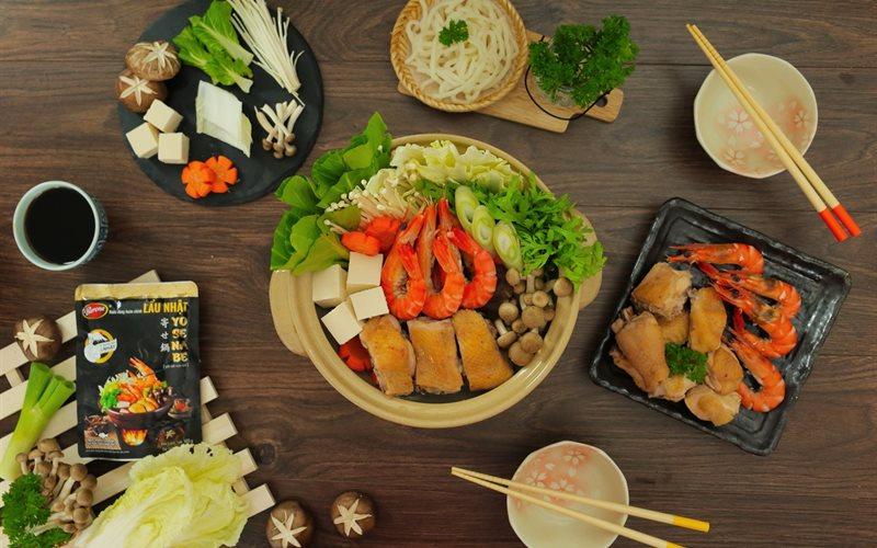 Cách Nấu Lẩu Nhật Yosenabe Thanh Nhẹ Hương Vị Nhật Bản