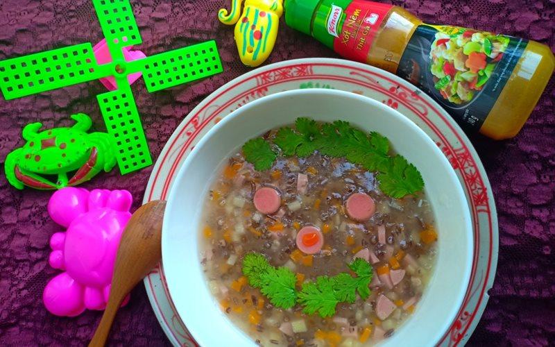 Cách Nấu Súp Thập Cẩm Cho Bé Ăn Dặm Cực Thơm Ngon
