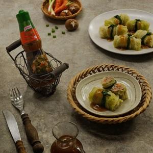 Cải thảo cuộn thịt xốt nêm Knorr