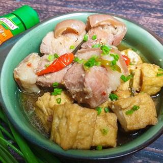 Cách Làm Thịt Kho Đậu Hũ Cay Thơm, Siêu Đơn Giản