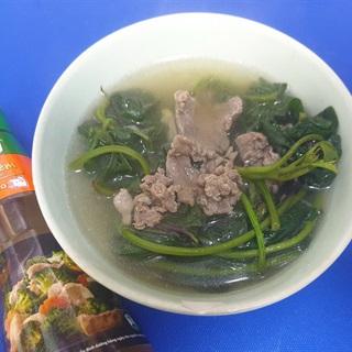 Cách Làm Canh Rau Lang Thịt Bò Cho Bữa Cơm Nhà
