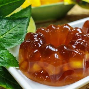 Bánh trung thu rau câu trà đào