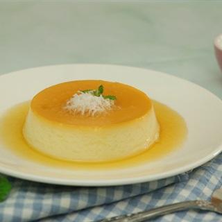 Cách Làm Bánh Flan Dừa Thơm Mềm Mịn Hấp Dẫn