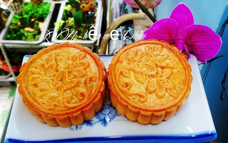 Cách Làm Bánh Nướng Nhân Cốm Dừa Cho Tết Trung Thu
