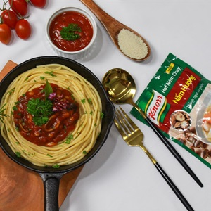 Mì spaghetti chay