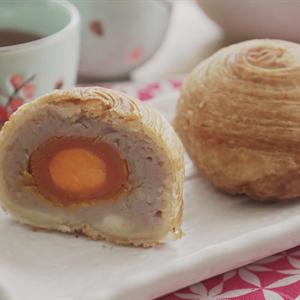 Bánh trung thu Đài Loan khoai môn