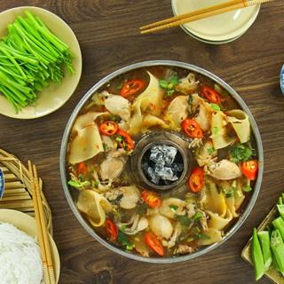 Cách Nấu Lẩu Ếch Măng Chua Thơm Ngon Cho Cuối Cùng Sum Họp