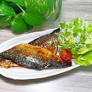 Cá saba áp chảo teriyaki