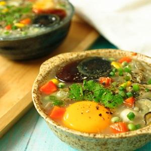 Súp hàu trứng bắc thảo