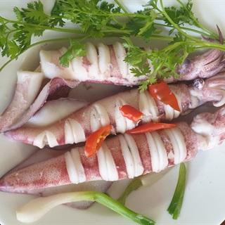 Cách Làm Mực Hấp Nước Dừa   Giòn Ngọt, Cực Ngon
