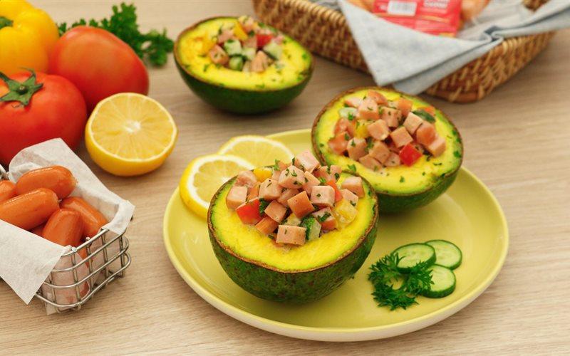 Cách Làm Salad Xúc Xích Nhồi Bơ Thơm Ngon Giảm Cân Tại Nhà