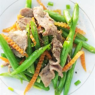 Cách Làm Đậu Cô Ve Xào Thịt Nạc | Ngon, Đơn Giản