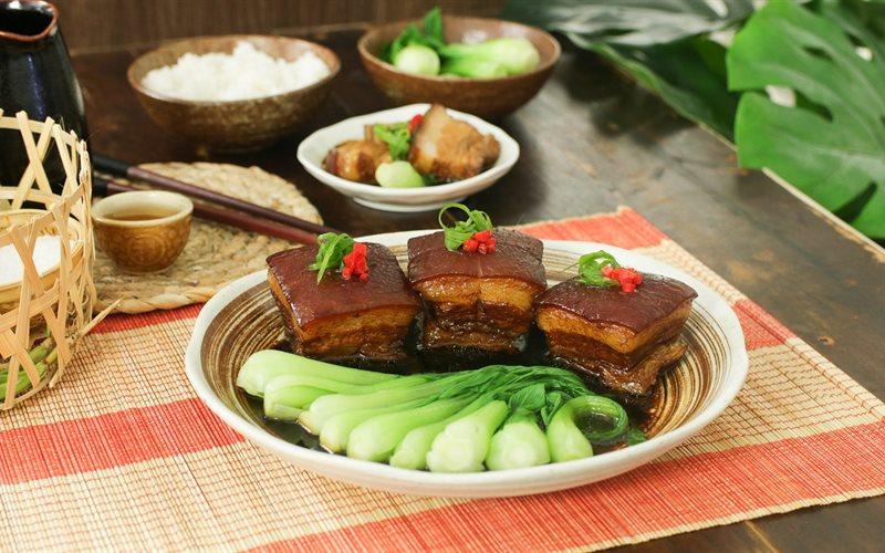 Cách Nấu Thịt Kho Đông Pha Chuẩn Vị Hàng Châu