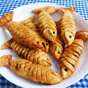 Bánh cá không xương - Bánh gối con cá