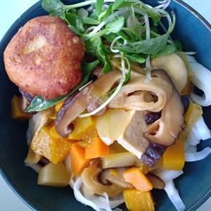 Mì Quảng ăn chay