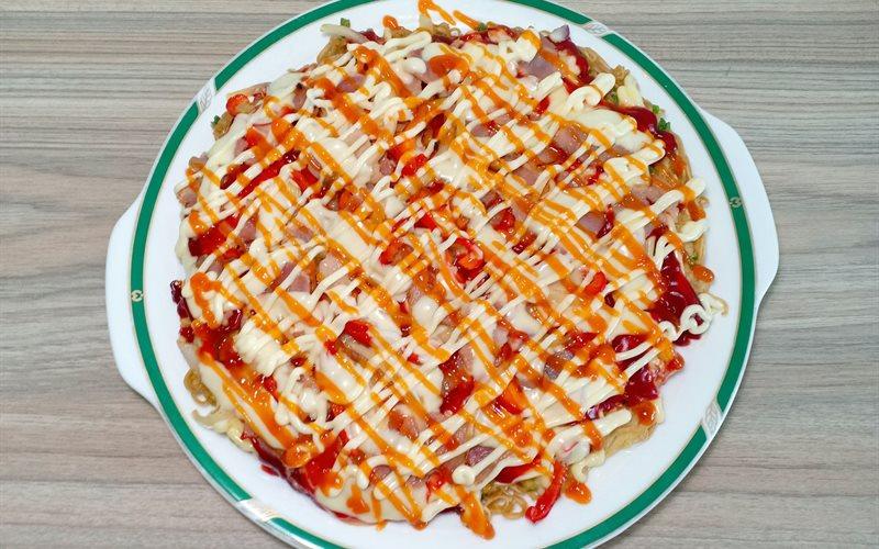 Cách Làm Pizza Mì Gói   Đơn Giản, Cho Bữa Sáng