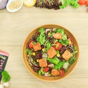 Salad ức gà vị Nhật