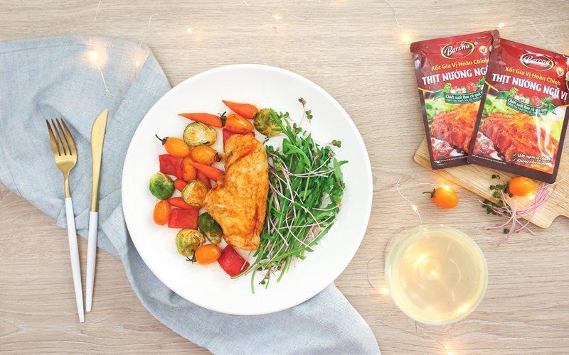 Cách Làm Salad Gà Nướng Ngũ Vị Ngon Miệng Tốt Cho Sức Khỏe