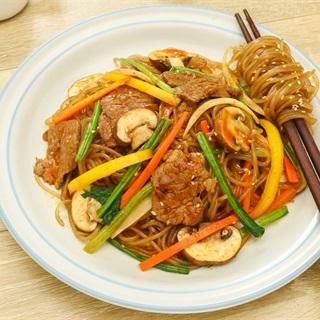 Cách Làm Miến Trộn Bò Xốt Ngũ Vị Dai Ngon Cho Bữa Sáng