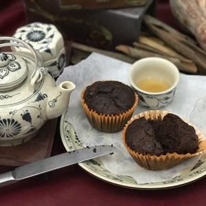 Bánh muffin bí đỏ chocolate