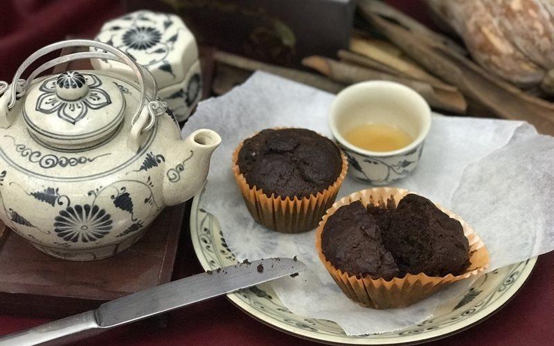 Cách Làm Bánh Muffin Bí Đỏ Chocolate | Đơn giản