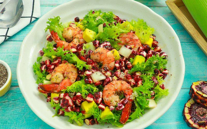 Cách Làm Món Salad Bắp Nữ Hoàng Đỏ Siêu Ngon Và Dinh Dưỡng