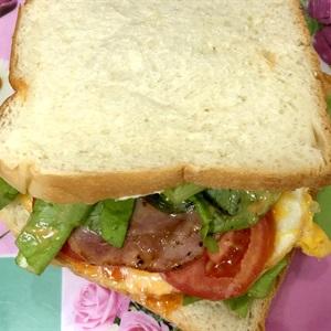 Sandwich kẹp jambon