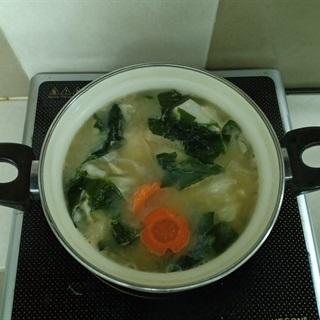 Canh Miso bắp cải