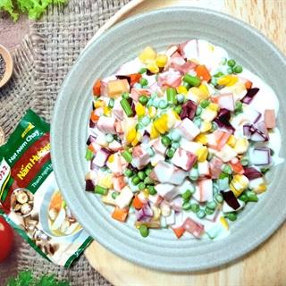 Cách Làm Salad Sữa Chua Chay Đơn Giản, Ngon Lành