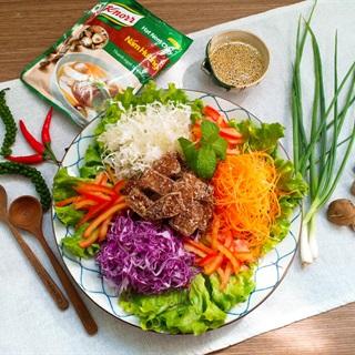 Salad bò ngũ sắc - Món chay