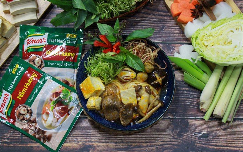 Cách Làm Bún Bò Huế Chay | Đậm Đà Ngon Miệng Ở Nhà