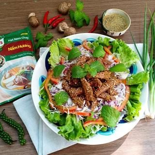Cách Làm Salad Thịt Bò Xào Chay | Ngon Và Đơn Giản