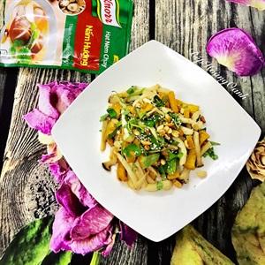 Nấm trộn đậu hủ