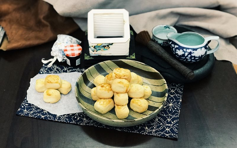 Cách Làm Bánh Nướng Nhân Thơm Đài Loan Ngon Lành