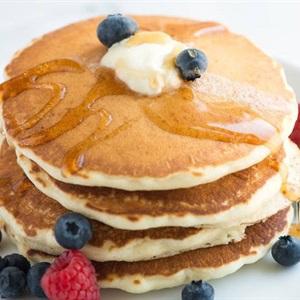 Bánh pancake không cần bột nở