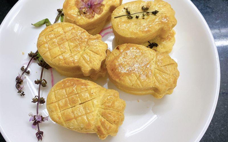 Cách Làm Bánh Dứa Đài Loan Từ NCKD | Cực Đơn Giản