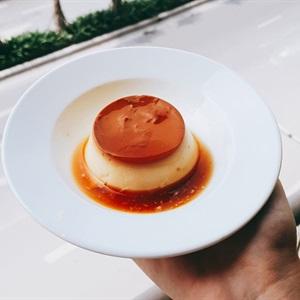 Bánh flan caramel tại nhà