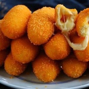 Phô mai que bọc khoai lang thơm bùi bằng lò nướng